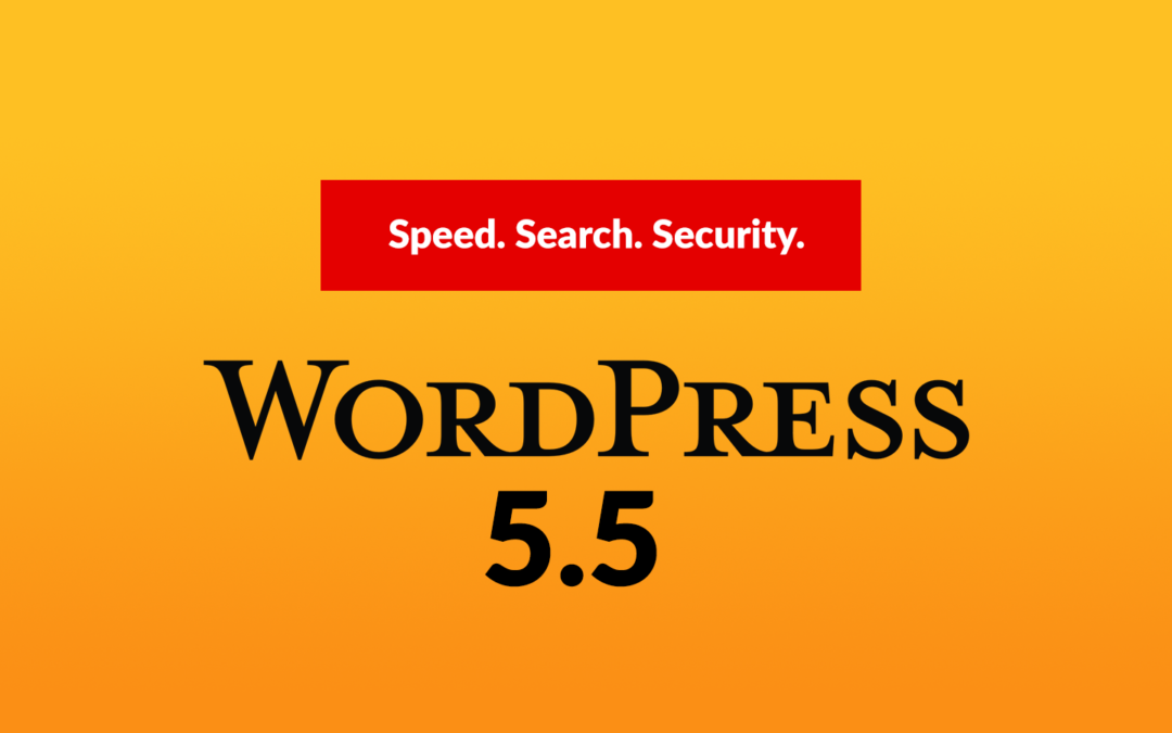 Your site gets new power in three major areas – speed, search, and security.